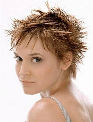 красивая стрижка 2014 для коротких жестких волос